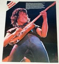 Gary Moore Vintage Kerrang Magazine Photo Clipping - $18.99