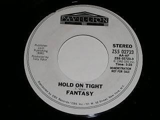 Primary image for Fantasy Hold On Tight 45 Rpm Record Promo
