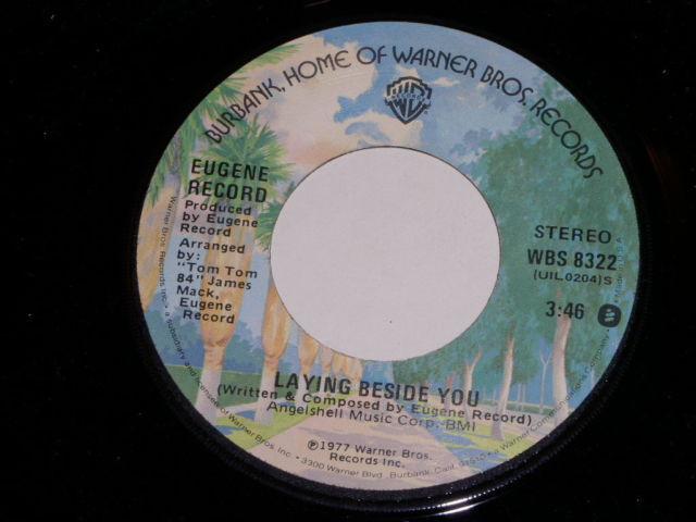 Primary image for Eugene Record Love Don't Live By Sex Alone Soul 45 Rpm Vintage 1977
