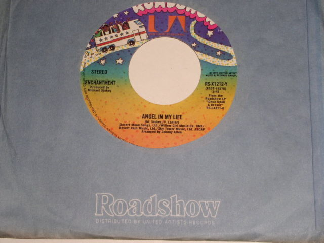Primary image for Enchantment Angel In My Life If You're Ready Soul 45 Rpm Vintage Roadshow Label