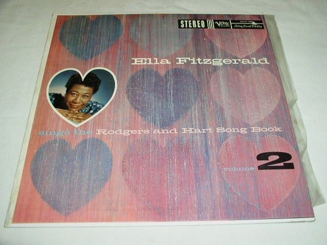 Primary image for ELLA FITZGERALD VINTAGE PHONOGRAPH RECORD ALBUM LP