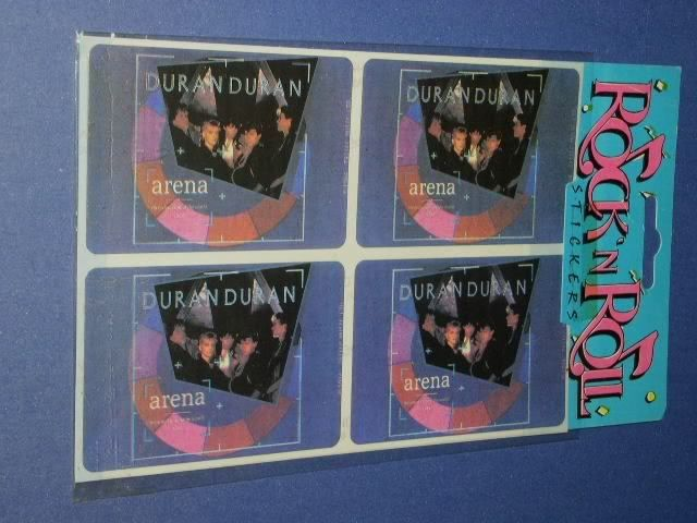 Primary image for DURAN DURAN STICKERS VINTAGE ARENA GROUP PHOTO
