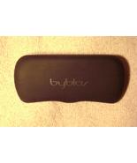 """byblos"" black eyeglass case with logo - $5.99"
