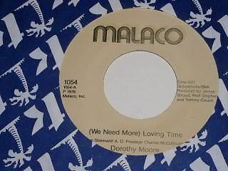 Primary image for Dorothy Moore Loving Time 45 Rpm Record