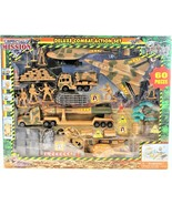 Special Mission Deluxe Military Combat Action Play Set 60 Pieces Excite ... - $49.49