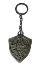 Zelda: Metal Hylian Shield Key Chain Brand NEW! - $11.99