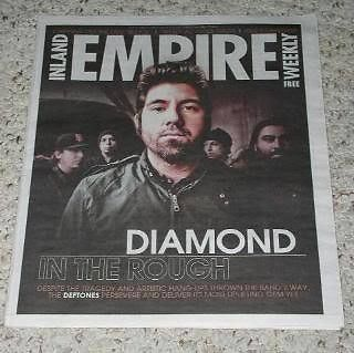 Primary image for Deftones Inland Empire Magazine 2011