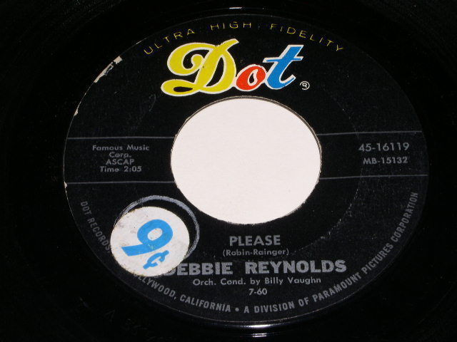 Primary image for Debbie Reynolds I'll Pretend 45 Rpm Phonograph Record Dot Label