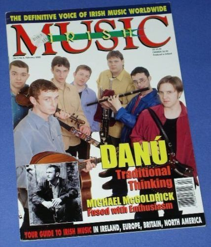 Primary image for DANU IRISH MUSIC MAGAZINE VINTAGE 2000 CELTIC