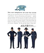 1966 AT&T Bell System Policeman Uniform fashion print ad - $10.00