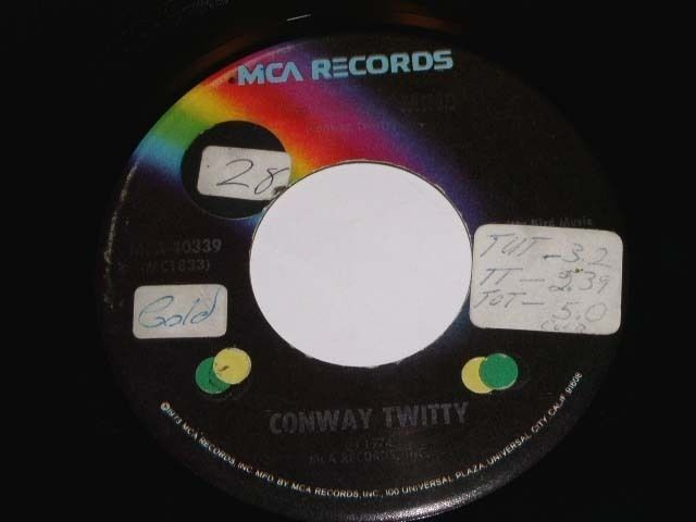 Primary image for Conway Twitty Linda On My Mind 45 Rpm Phonograph Record