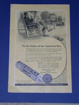 Colgate Toothpaste Vintage 1923 National Geographic Ad - $12.99