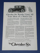 Chrysler Vintage 1924 National Geographic Ad - $12.99