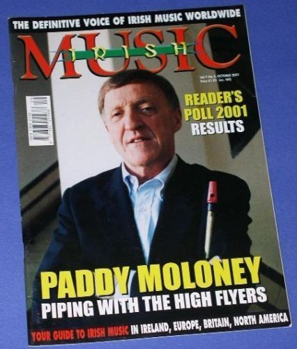 Primary image for CHIEFTAINS PADDY MALONEY IRISH MUSIC MAGAZINE 2001 CELT