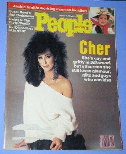 Primary image for CHER PEOPLE WEEKLY MAGAZINE VINTAGE 1984