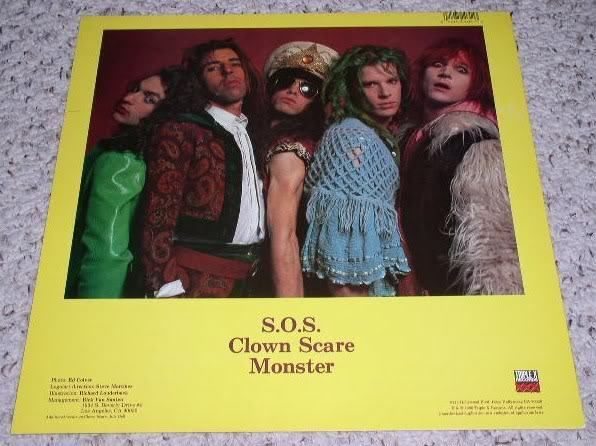 Primary image for Celebrity Skin Promotional Album Flat 1990 Band Pic