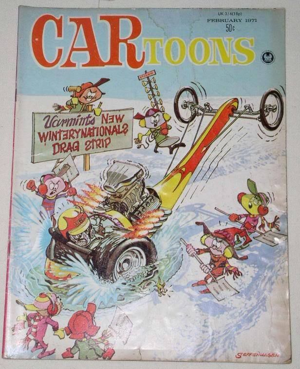 Primary image for CARtoons VINTAGE 1971 MAGAZINE STEFFENHAGEN MILLAR