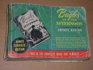 Primary image for Bugles In The Afternoon Vintage 1944 Haycox