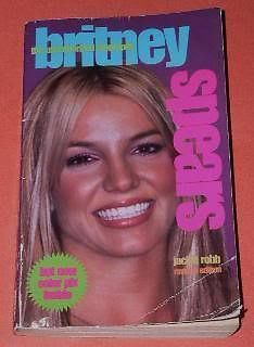 Primary image for Britney Spears Paperback Book Vintage 2000