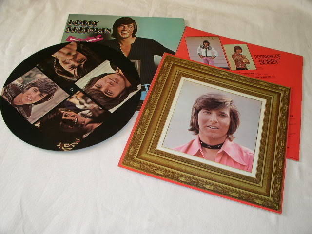 Primary image for BOBBY SHERMAN VINTAGE PAIR OF RECORD ALBUMS LPS