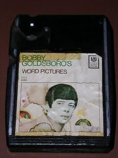 Primary image for Bobby Goldsboro 8 Track Tape Cartridge Vintage Word Pictures