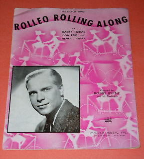 Primary image for Bobby Byrne Rolleo Rolling Along Sheet Music Vintage 1942