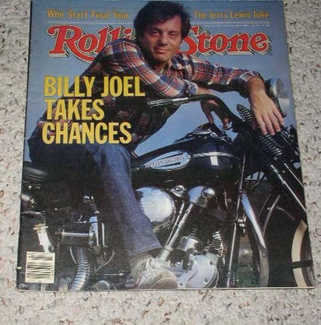 Primary image for Billy Joel Rolling Stone Magazine Vintage 1982