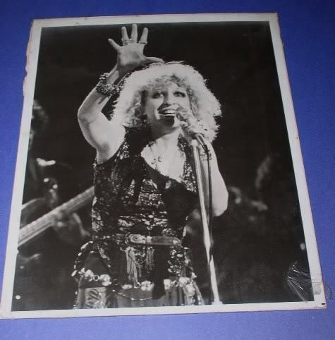 Primary image for BETTE MIDLER VINTAGE GLOSSY PHOTO THE ROSE