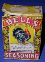 BELL'S SEASONING SPICE VINTAGE WILLIAM B. BELL CO - £7.66 GBP
