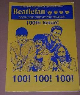 Primary image for Beatlefan Magazine May 1996 The Beatles 100th Issue