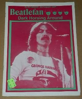 Primary image for Beatlefan Magazine November 1994 George Harrison Dark Horse