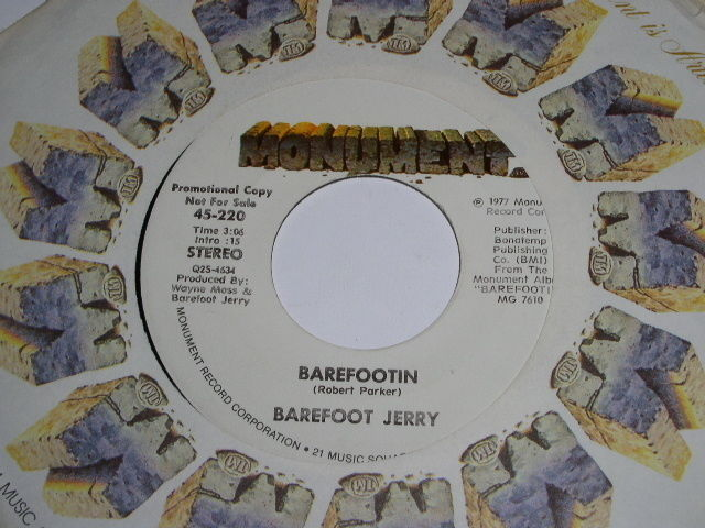 Primary image for Barefoot Jerry Barefootin 45 Rpm Record Promotional