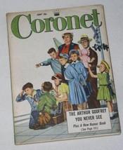 ARTHUR GODFREY VINTAGE CORONET MAGAZINE 1953 - $19.98