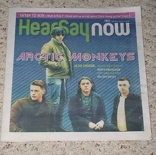 Primary image for Arctic Monkeys HearSay Now Magazine 2011