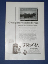 ANSCO CAMERA VINTAGE 1923 NATIONAL GEOGRAPHIC AD - $12.99
