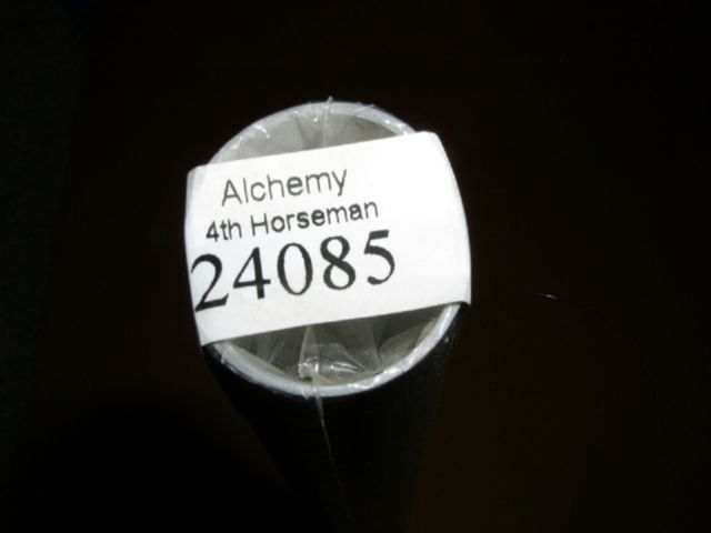 Primary image for Alchemy 4th Horseman Poster 2004 Aquarius #24085 Sealed Mint