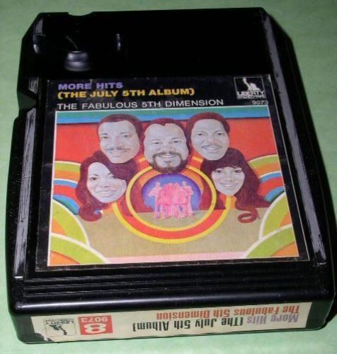 Primary image for 5TH DIMENSION 8 TRACK TAPE CARTRIDGE RARE VNTAGE