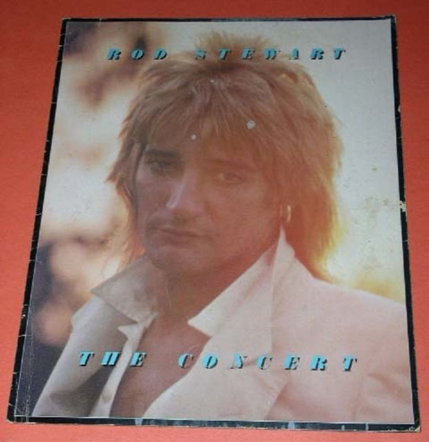 Primary image for Rod Stewart Concert Tour Program Vintage Foot Loose Fancy Free