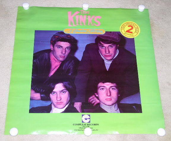 Primary image for THE KINKS PROMOTIONAL POSTER VINTAGE COMPLEAT COLLECTION