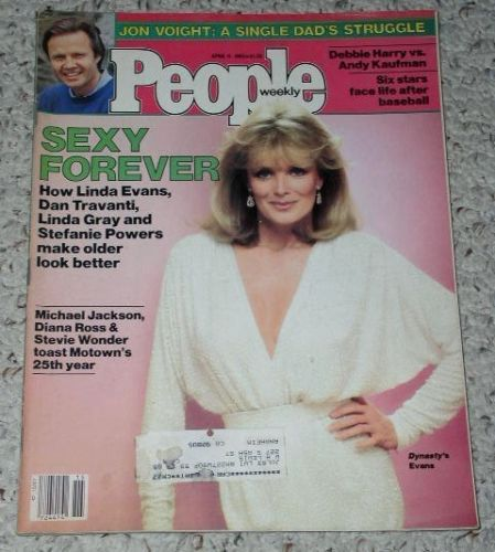 Primary image for Linda Evans Michael Jackson People Weekly Magazine 1983