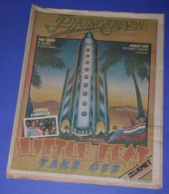 LITTLE FEAT LOWELL GEORGE PHONOGRAPH RECORD MAG. 1975 - $34.99