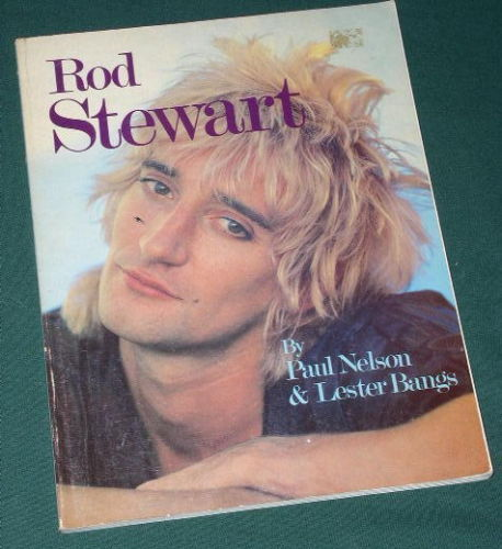 Primary image for ROD STEWART SOFTBOUND BOOK VINTAGE 1981 1ST PRINTING