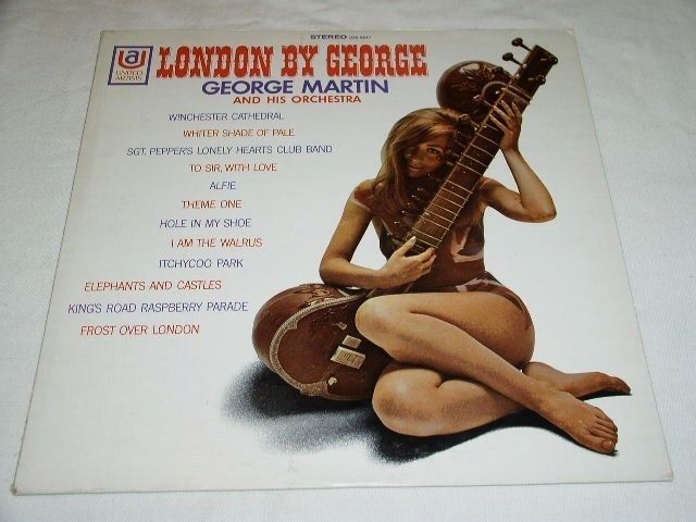 Primary image for GEORGE MARTIN VINTAGE PHONO RECORD ALBUM LP BEATLES