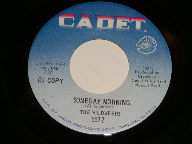 Primary image for The Wildweeds Someday Morning 45 Rpm Record Vintage Cadet Label Promotional