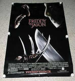 Primary image for Freddy VS Jason Poster Double Sided Movie Advance