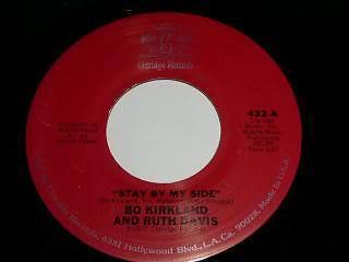 Primary image for Bo Kirkland Ruth Davis Stay By My Side 45 Rpm Record