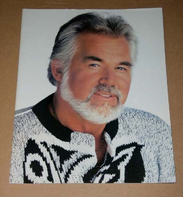 Primary image for Kenny Rogers Concert Tour Program Vintage 1987