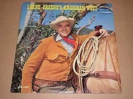 Lorne Greene American West Record Album 1966 Bonanza TV - $49.99