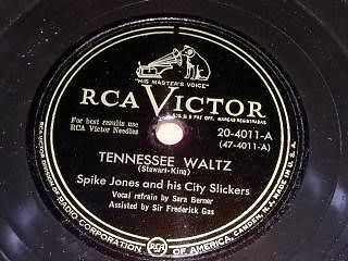 Primary image for Spike Jones 78 RPM Record Tennessee Waltz