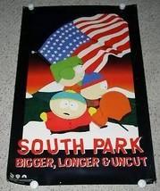 South Park Poster Bigger Longer Uncut 1999 Funky Ent. - $19.99